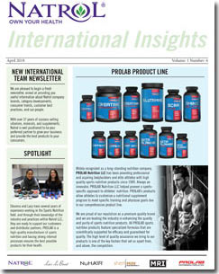 April 2018 Natrol International Newsletter #6