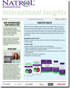 June 2018 Natrol International Newsletter #8