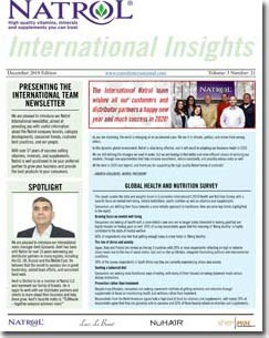 April 2020 Natrol International Newsletter #24
