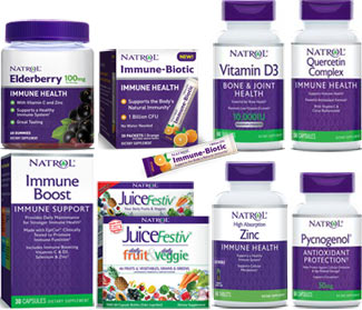 Natrol Immue Support products