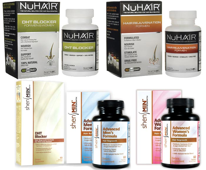 NuHair and shenMin Hair Rejuvenation