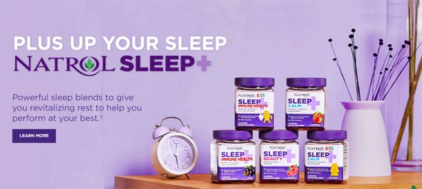 New Natrol Sleep+ Products available for International distribution