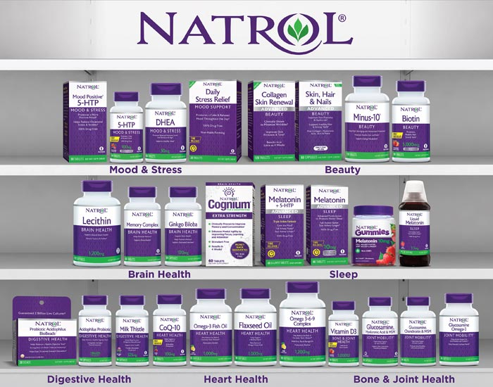 Natrol International Vitamins, Minerals, & Supplements
