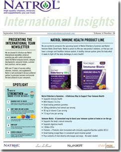 September 2020 Natrol International Newsletter #28